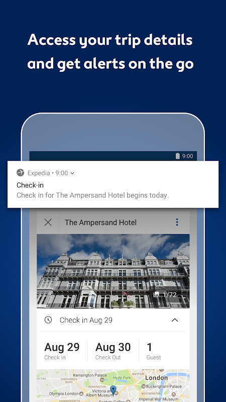 Expedia Hotels, Flights, Car Hires & Activities 18.26.0 Screen 11