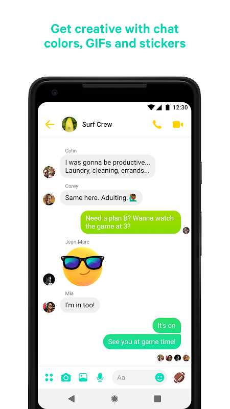 Messenger – Text and Video Chat for Free 233.0.0.3.158 Screen 5