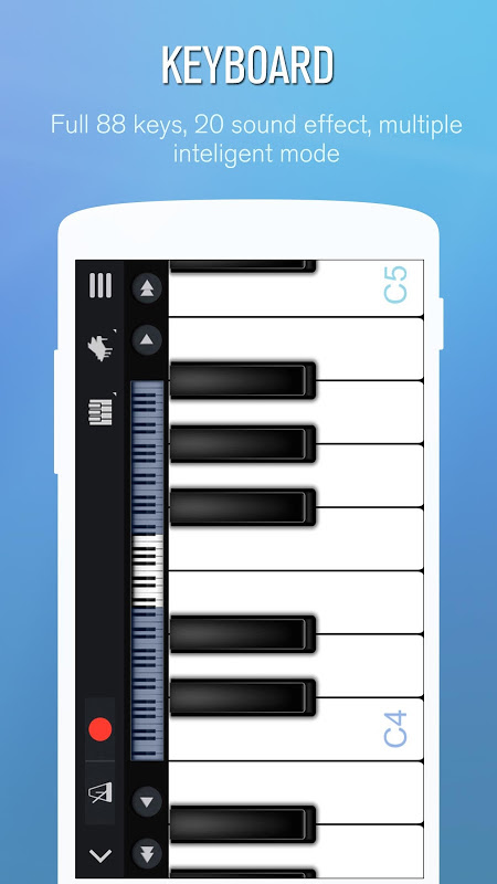 Android Perfect Piano Screen 1