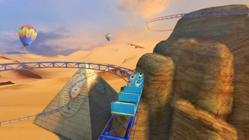 Roller Coaster 3D 1.0.3 Screen 5