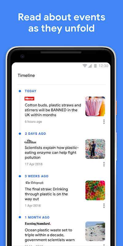 Android Google Play Newsstand Screen 2