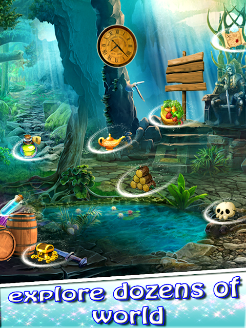 Enchanted Castle Adventure Hidden Object Game 1.0 Screen 1