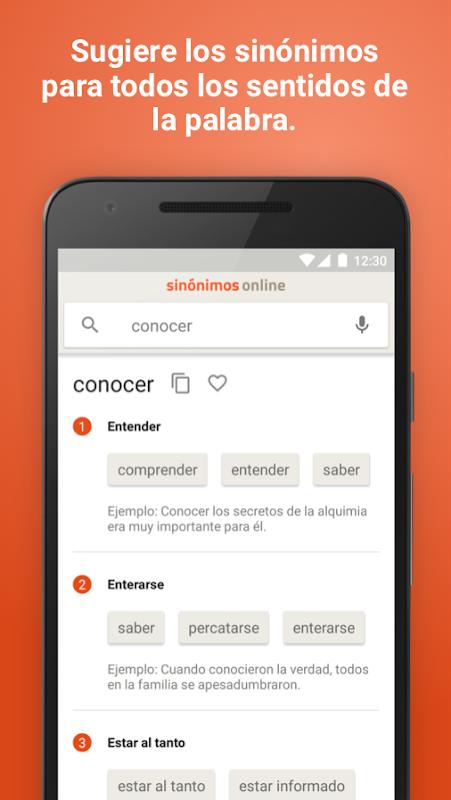 Diccionario Sinónimos Offline 2.7.0 Screen 1