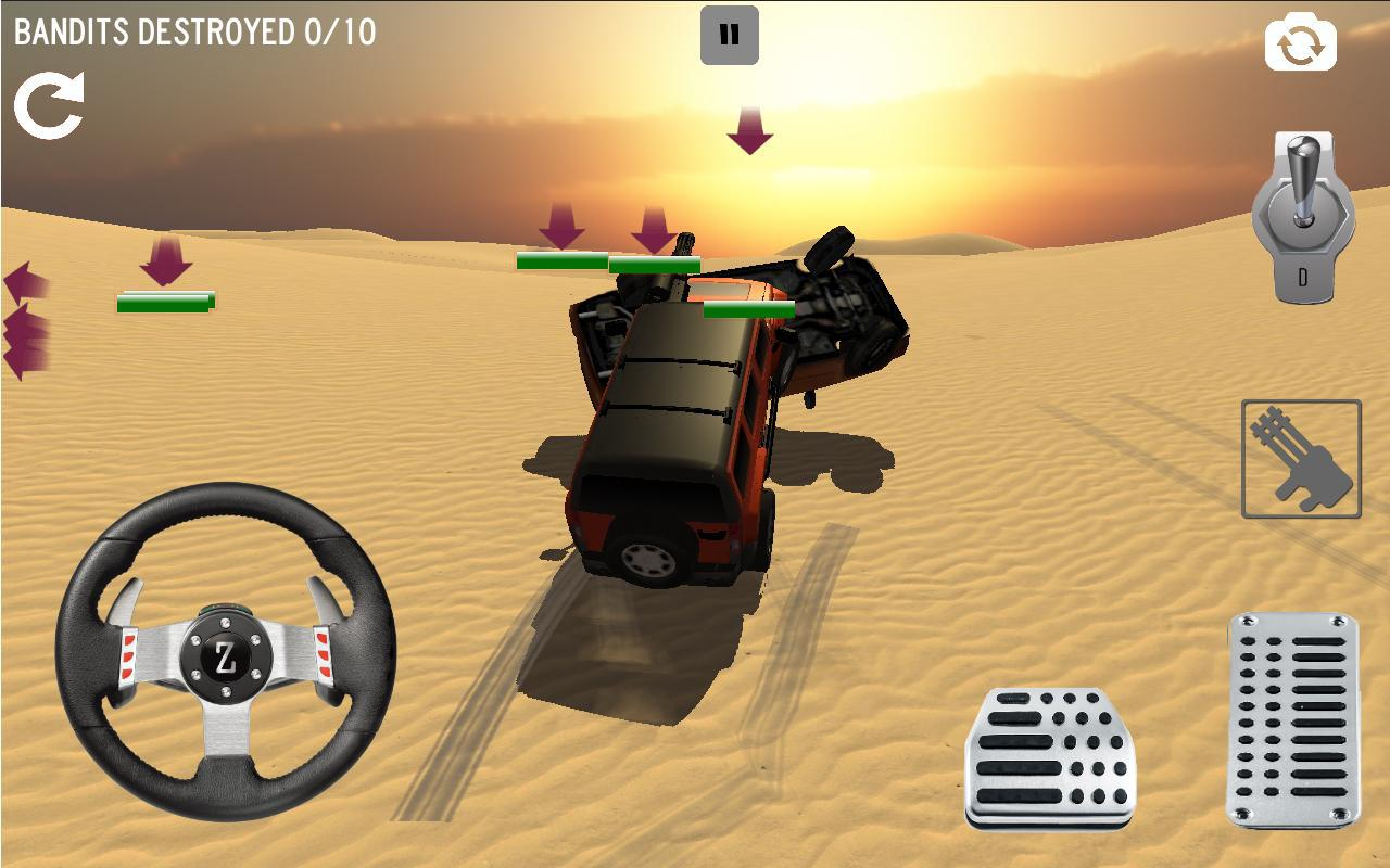 Android 4x4 Desert Safari Attack Screen 3