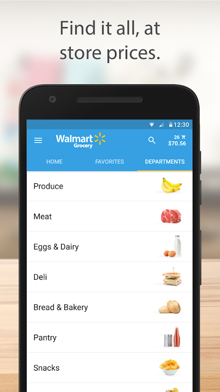 Walmart Grocery 3.8.1 Screen 2