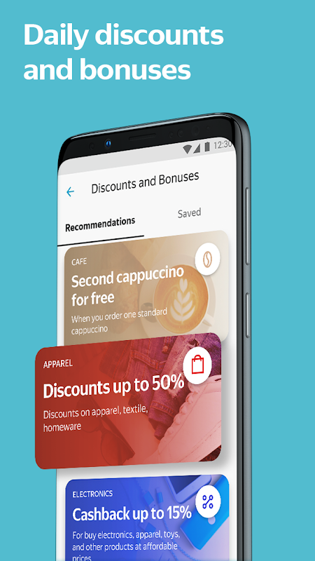 Yandex.Money—wallet, cards, transfers, and fines 5.10.0 Screen 6