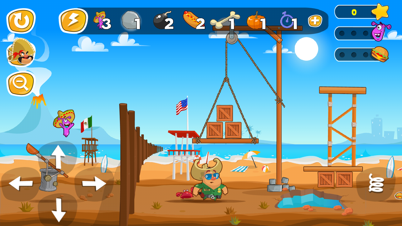 Android Jump the Wall - Mexico USA : Catapult, Jump, Escape - Appcoins ed. Screen 5