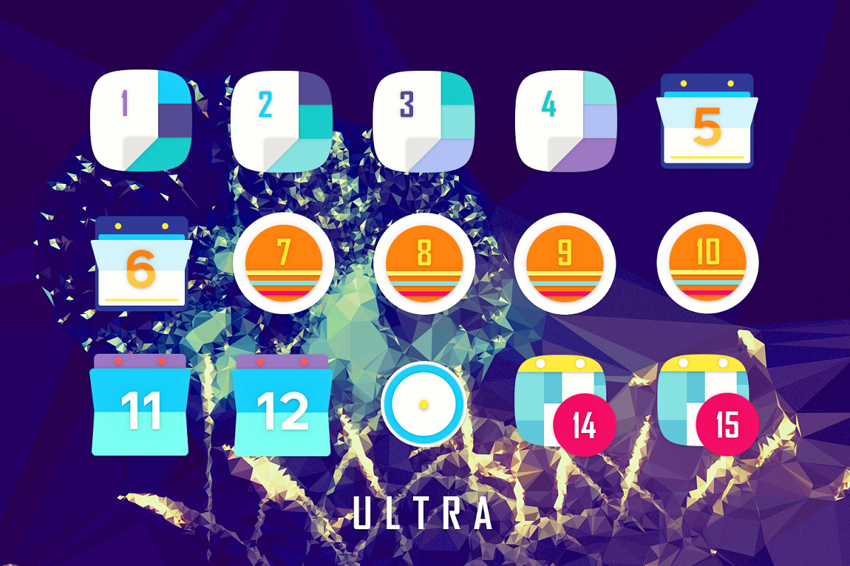 Android Ultra Icon Pack Screen 15