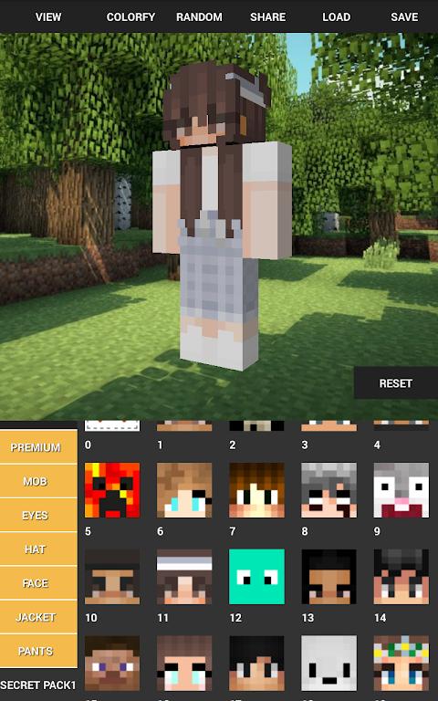 Custom Skin Creator For Minecraft 5.6 Screen 12