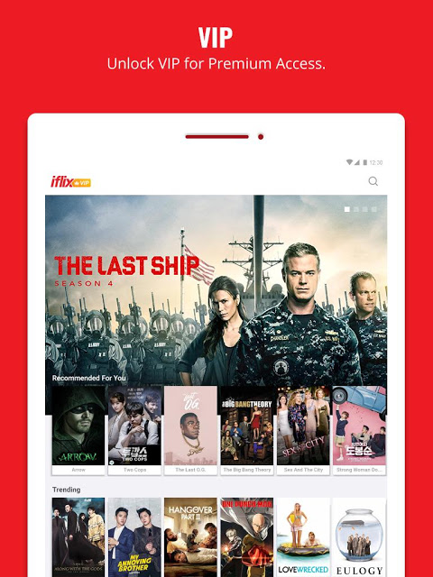 Android iflix Screen 2
