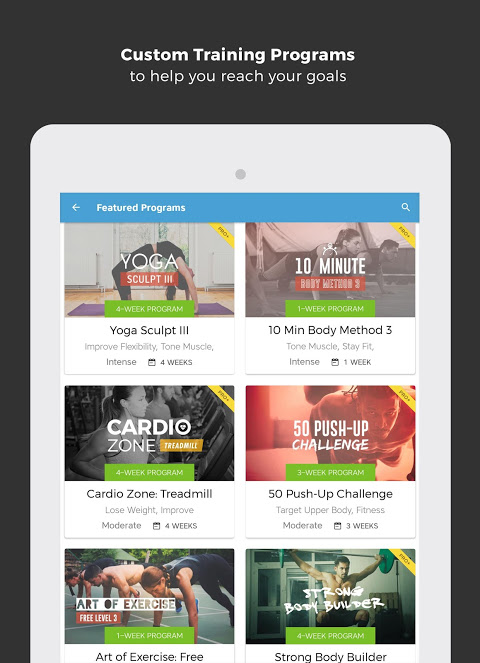 Android Workout Trainer: fitness coach Screen 24