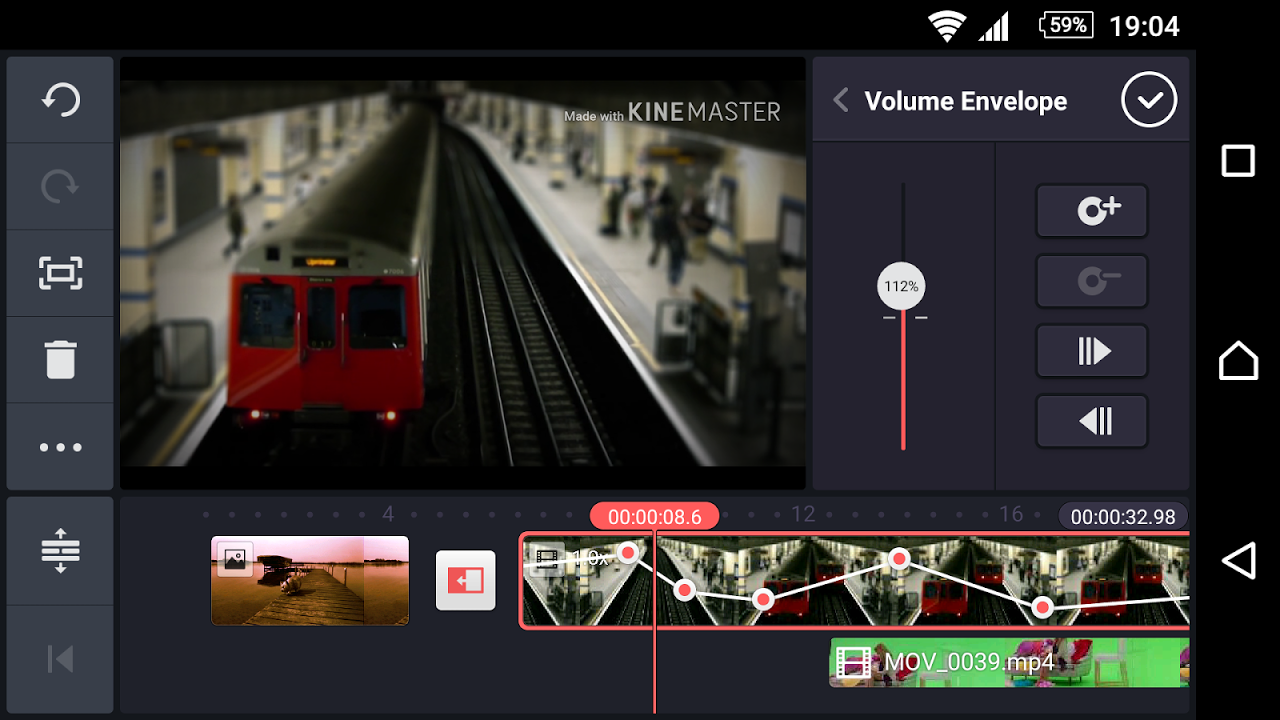 Android KineMaster – Pro Video Editor Screen 6
