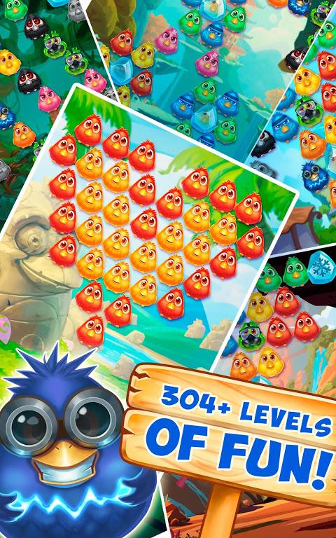 Bubble Birds 4 - Rescue Falling Funny Birds 2.4.1 Screen 8