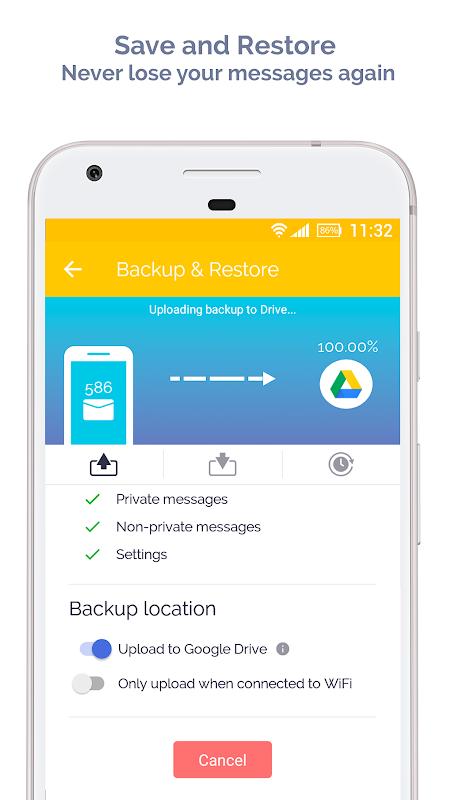Mood Messenger - SMS & MMS 1.78n Screen 10