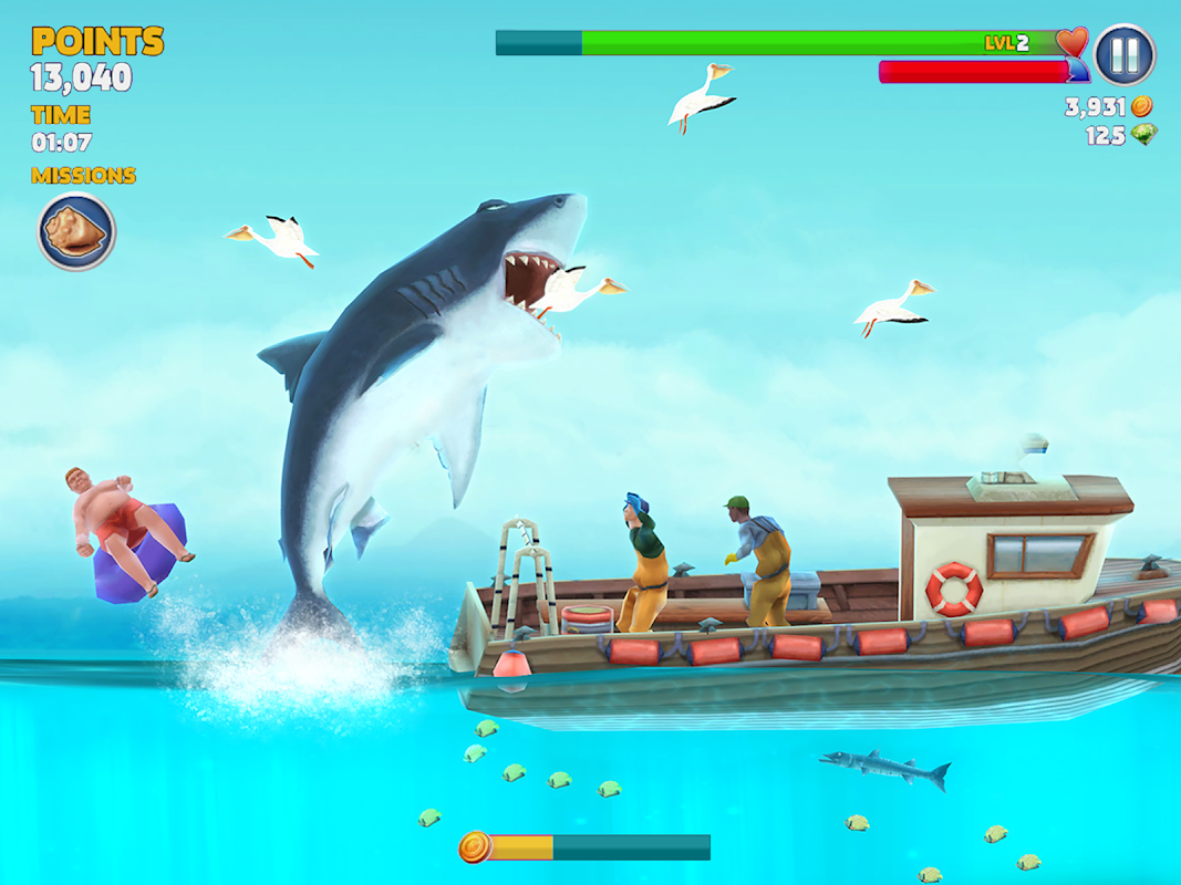 Android Hungry Shark Evolution (Mod) Screen 22