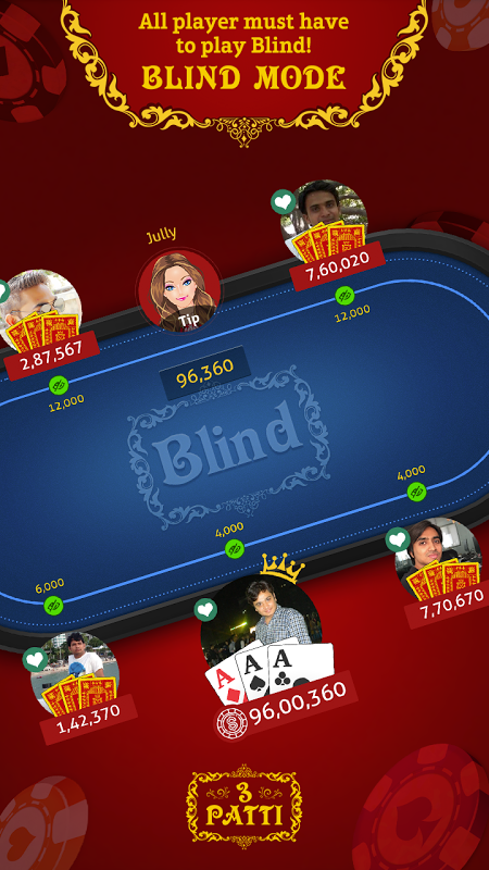 Android Teen Patti Indian Poker Screen 2