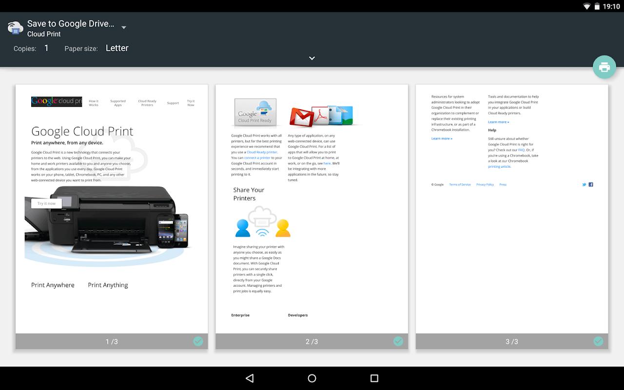 Cloud Print 1.42 Screen 6