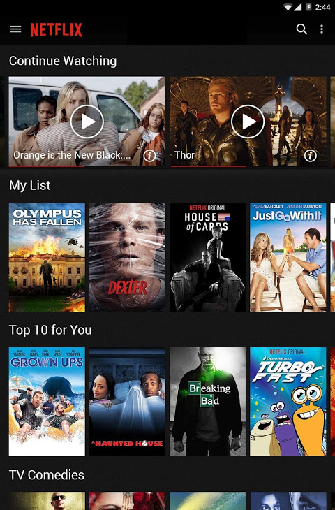 Android Netflix Screen 9
