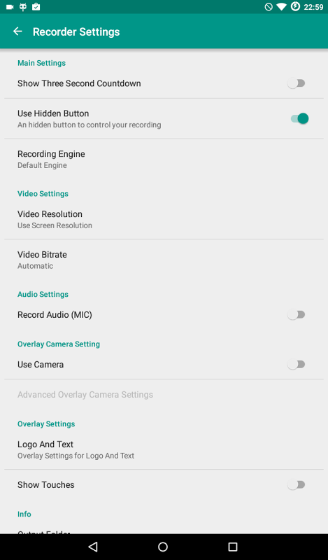 ADV Screen Recorder 2.5.7 Screen 5