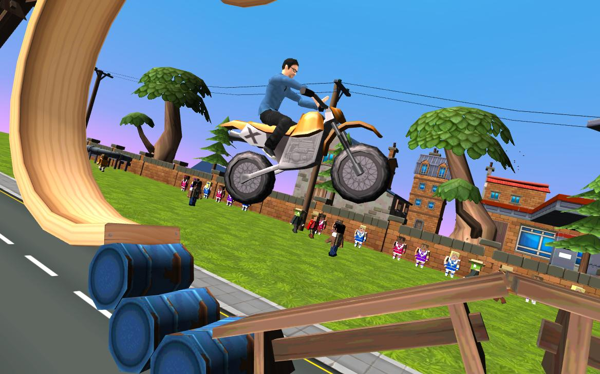 Dirt Bike - Cartoon Trial 1.7 Screen 1