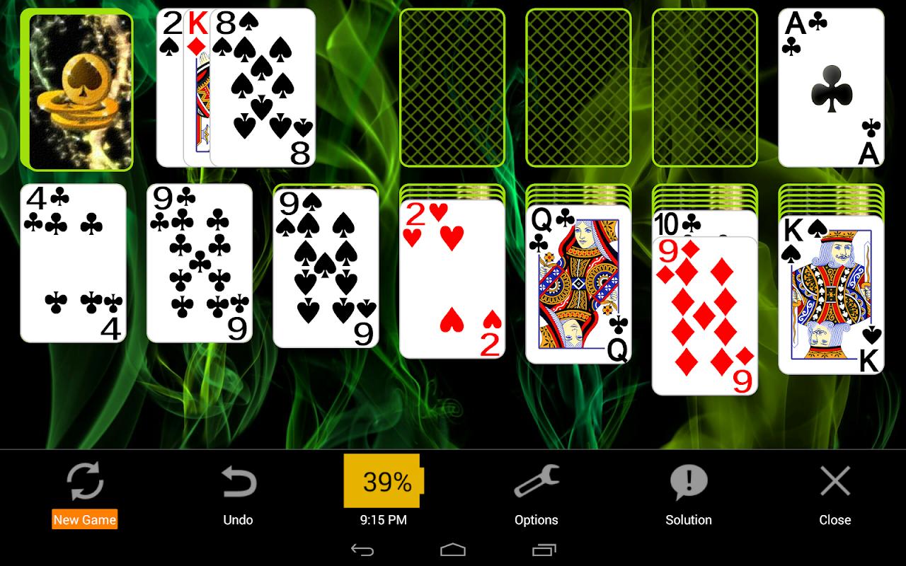 Solitaire 4.8.1391c Screen 6