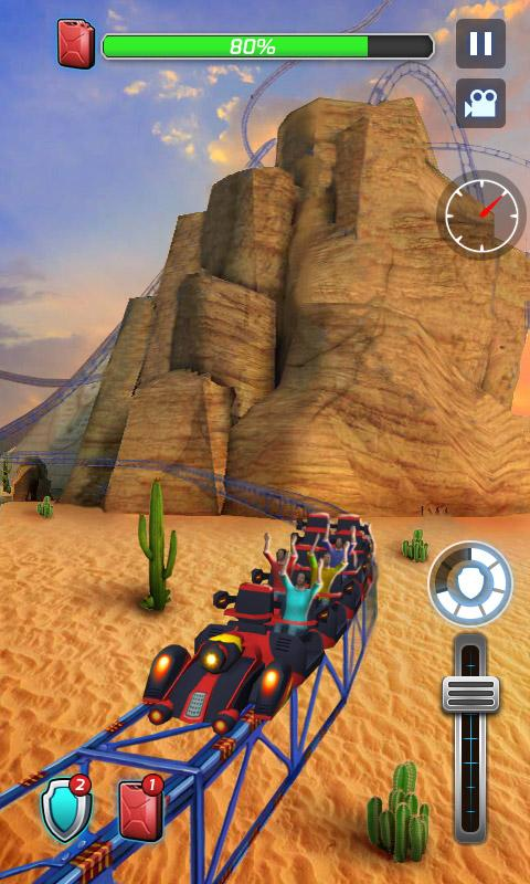 Roller Coaster 3D 1.0.3 Screen 1