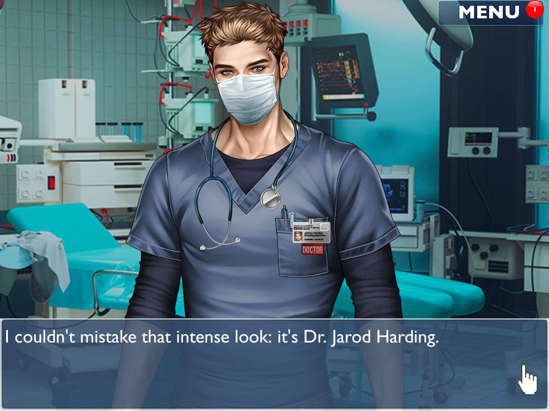Android Is it Love? Blue Swan Hospital - Choose your story Screen 6