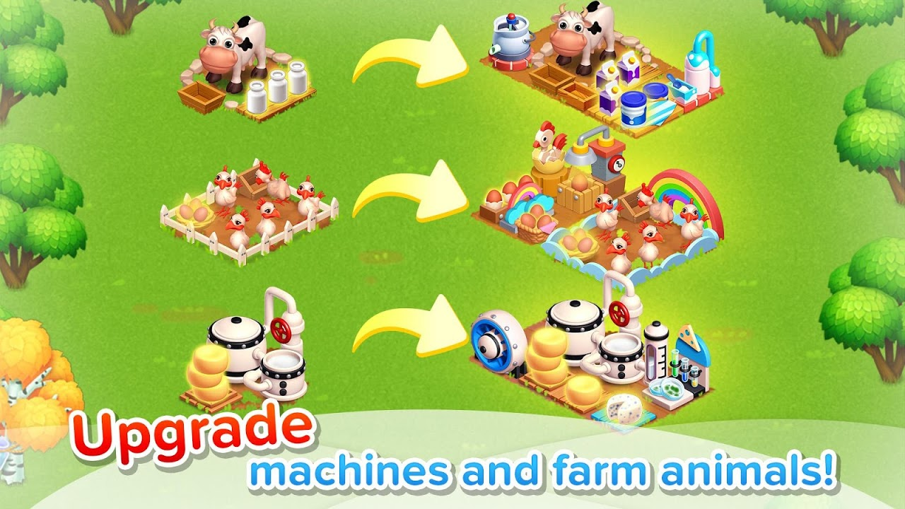Android Family Farm Seaside Screen 5
