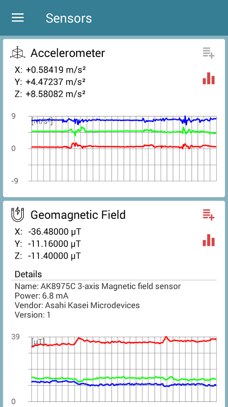 Sensors Test 1 01 APK Download by EXA Tools | Android APK