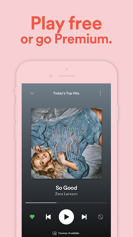 Android Spotify: Free Music Streaming Screen 10