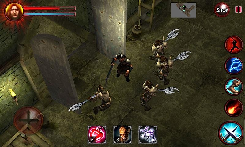 Android Dungeons and Demons  - RPG Quest Screen 2