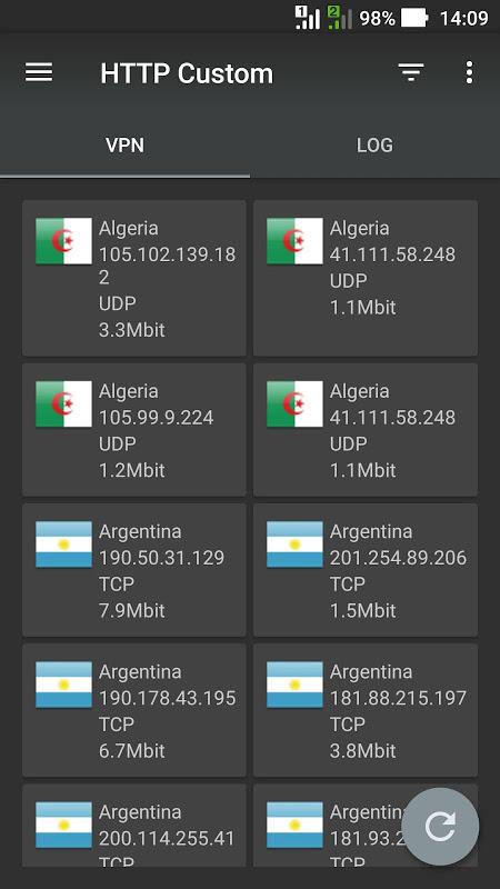 HTTP Custom - SSH & VPN Client with Custom Header APKs | Android APK