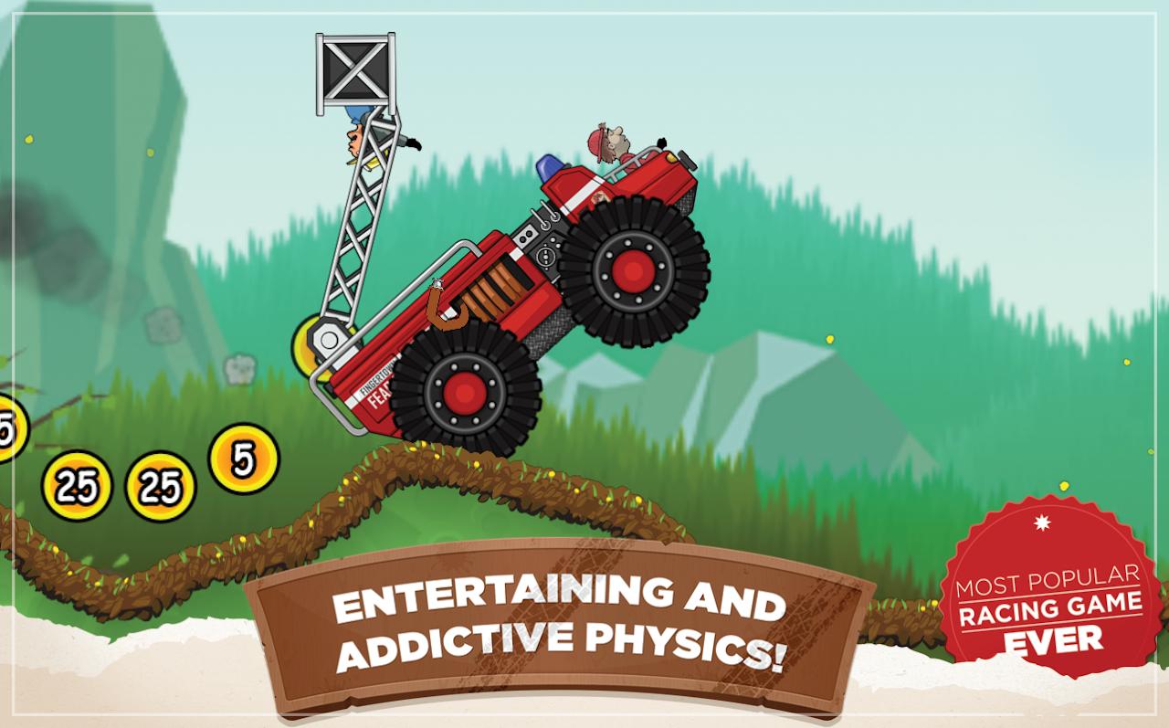 Android Hill Climb Racing Screen 1