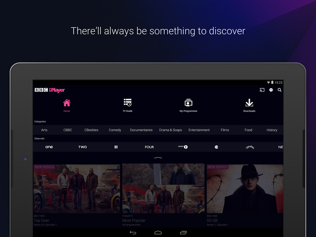 BBC iPlayer 4.38.0.3 Screen 16