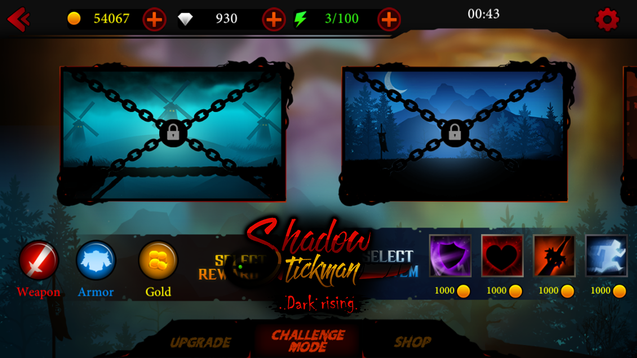 Android Shadow Stickman: Dark rising – Ninja warriors Screen 4