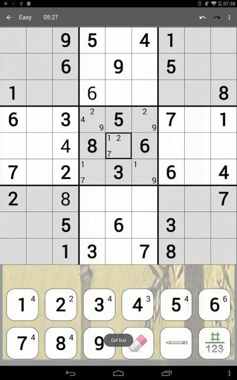 Sudoku 10.2.5.g Screen 9