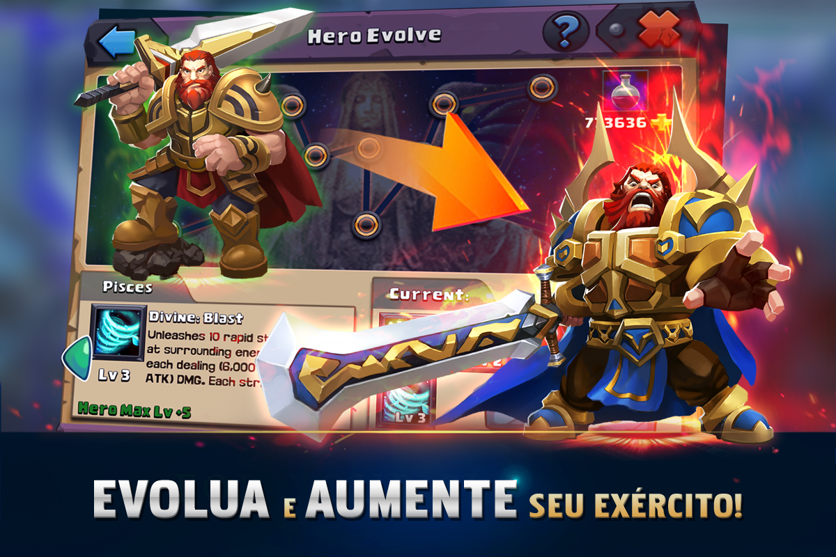 Android Clash of Lords 2: A Batalha Screen 2