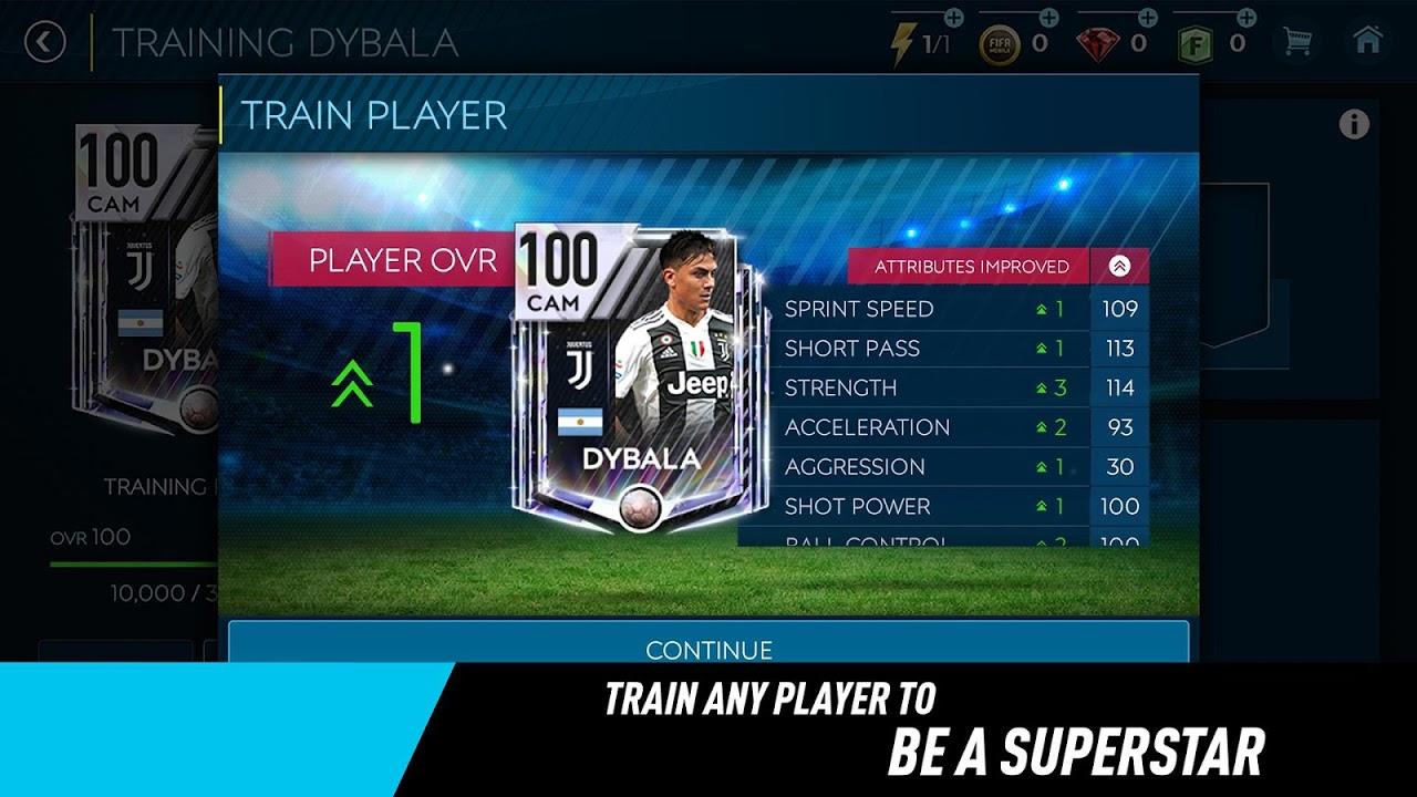 FIFA Mobile Football 12.1.01 Screen 4