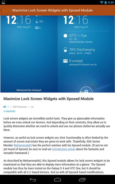 XDA Legacy 7.1.27 Screen 3