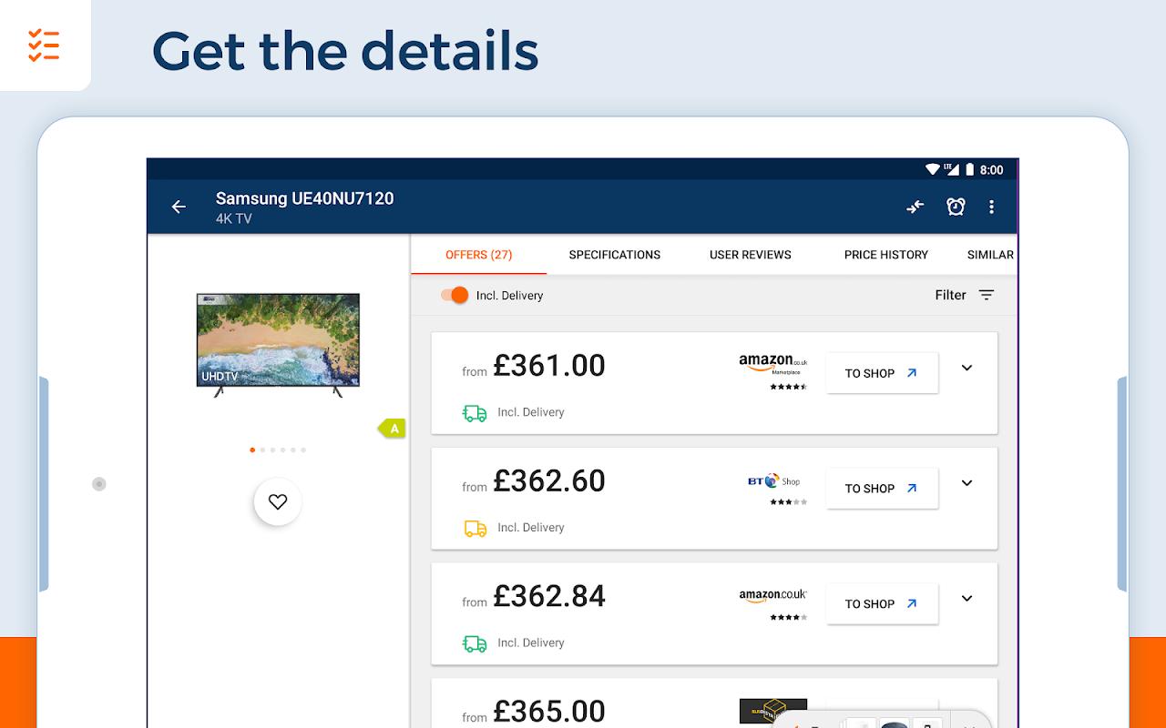 idealo - Price Comparison & Mobile Shopping App 10.3.7 Screen 11