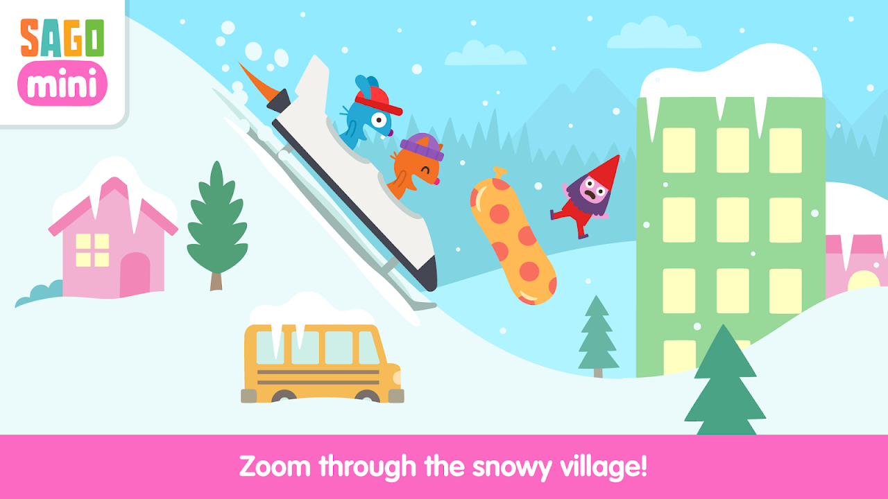 Android Sago Mini Snow Day Screen 2