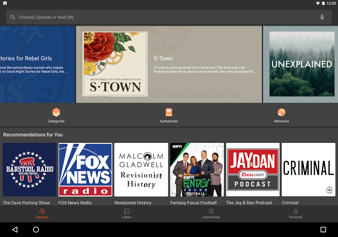 Castbox - Free Podcast & Audio 7.45.1-181206168 Screen 1