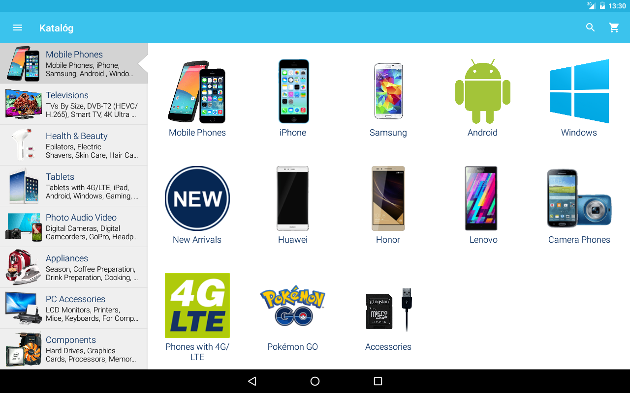 Alza.co.uk 6.4.6 Screen 1