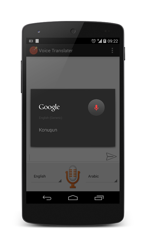 Voice Translator 1.0 Screen 3