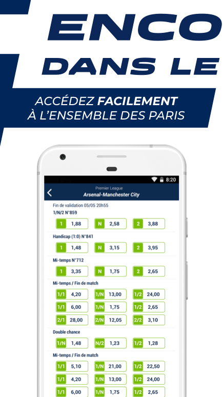Android ParionsSport Point De Vente® Screen 1