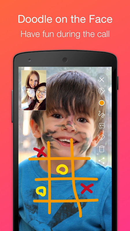 JusTalk - Free Video Calls and Fun Video Chat 7.2.54 Screen 1