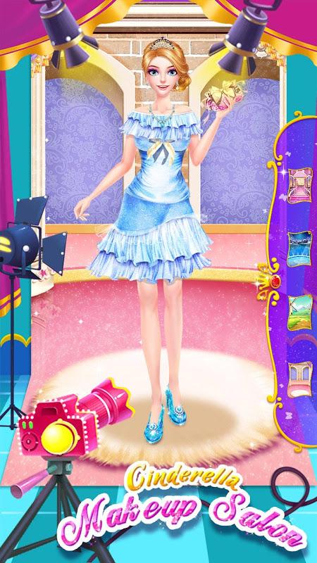 Cinderella Fashion Salon - Makeup & Dress Up 2.2.3967 Screen 7