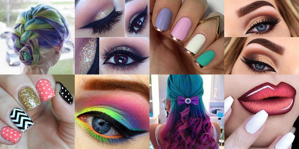 Makeup, Hairstyles, Nails 2.1 Screen 1