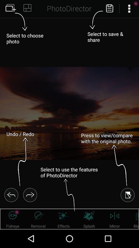 PhotoDirector Photo Editor App, Picture Editor Pro 7.0.0 Screen 7