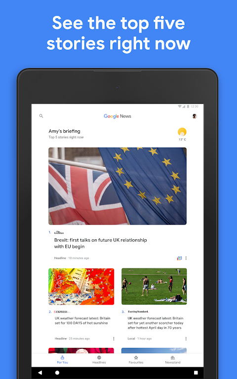 Google Play Newsstand 5.5.1 Screen 5